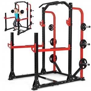 Physionics-Station-de-Musculation-Multifonction-Power-Rack-Cage--Squats-Dvelopp-Couch-Station-de-Traction-0
