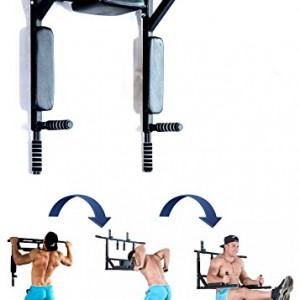 Bar2Fit-Barre-de-Traction-Murale-Appareil-Abdominaux-Dips-Triceps-Musculation-Chargez-jusqu-200kg-Workout-Crossfit-Fitness-0