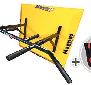 MAGNUS-POWER-MP1035-Barre-de-traction-montage-mural-6-poigne-Gants-Crochet-pour-Aero-Sling-Sac-de-frappe-0