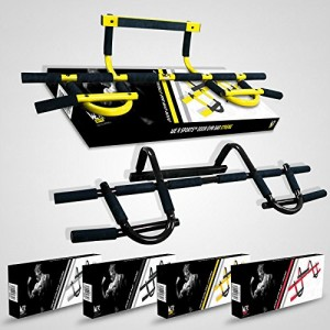 We-R-Sports-Door-Gym-Barre-de-tractionabdominaux-Fixation-sur-porte-Blanc-0