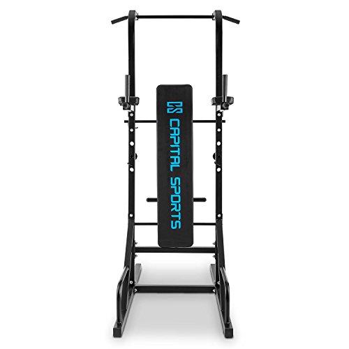 achat capital sports spiris rack squat multifonction avec banc repliable. Black Bedroom Furniture Sets. Home Design Ideas