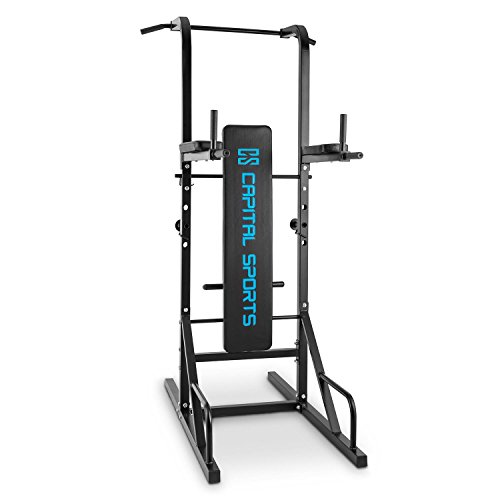 Achat capital sports spiris rack squat multifonction - Banc de musculation avec barre de traction ...