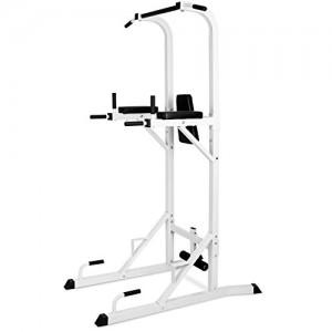 Klarfit-FIT-KS04-Barre-de-traction-crunches-dips-pompes-6-fonctions-support-jambes-pour-sit-up-supporte-jusqu-100kg-Blanc-0