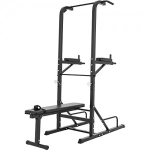 Station-dentrainement-multifonctions-barre-de-traction-dips-banc-musculation-0