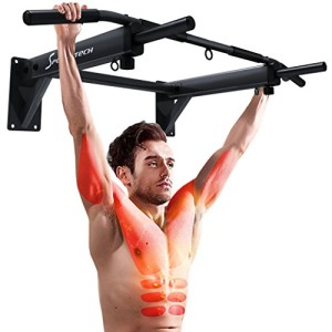 Sportstech-Barre-de-traction-4-en-1-KS300-montage-murale-3-anneaux-pour-TRX-ou-punching-ball-6-poignes-antidrapantes-exercices-de-musculation-pull-ups-3-prises-matriel-de-fixation-incl-0