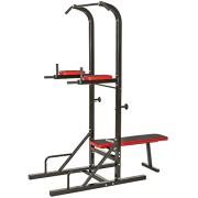 TecTake-Station-de-musculation-multifonction-dips-barre-de-traction-banc-dhaltre-Dimensions-180-x-95-x-210-cm-0
