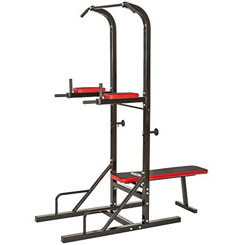 Achat Tectake Station De Musculation Multifonction Dips Barre De