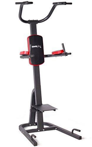SportPlus-SP-HG-014-Chaise-Romaine-Power-Tower-Avec-poignes--dips-pliables-Barre-de-traction-Poignes-pour-pompes-Compacte-et-ultra-pratique-0