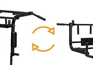 BK-BenchK-Multifonction-Bluetooth-pour-Montage-Mural-Barre-de-Traction-pour-Pull-Chin-Dip-et-Sit-Up-Black-L-0