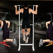 PullUp-Fitness-Barre-de-Traction-Ajustable-Station-Musculation-Dips-Station-Chaise-Romaine-Rouge-0-0