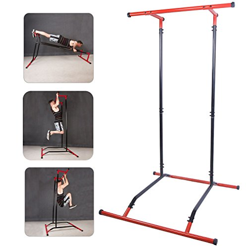 CCLIFE-Barre-de-Traction-Portable-Barre-de-Traction-Station-muscualtion-corporel-Station-muscu-multifontion-Barre-de-tractions-Amovible-0