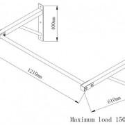 Gorilla-Sports-Barre-de-Traction-Murale-Distance-du-Mur-adapte-et-idal-pour-Les-Kipping-ups-0-0