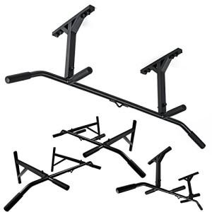 Barre-de-traction-professionnelle-Trex-Montage-au-mur-ou-au-plafond-Poignes-antidrapantes-TX-23-4-Poignes-0