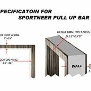 Sportneer-Barre-de-Porte-Barre-de-Traction-MultifonctionsBarre-de-MusculationBarre-de-MentonChin-Up-Bar-Multi-Grip-Pull-Up-Bar-Porte-Entraneur-pour-Salle-de-Gym--Domicile-Jusqu-150kg-0-0