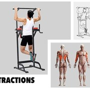 Pullup-Fitness-Barre-de-Traction-Ajustable-Station-Musculation-Dips-Station-Chaise-Romaine-0-0