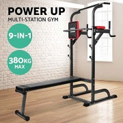 Pullup-Fitness-Barre-de-Traction-Ajustable-Chaise-Romaine-Station-Musculation-Dips-Station-Banc-de-Musculation-Pliable-Station-Traction-dips-Multifonctions-0-0