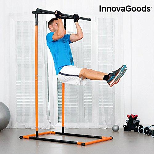 InnovaGoods-ig811464-Station-de-dominadas-et-Fitness-Mixte-Adulte-Noir-Taille-Unique-0
